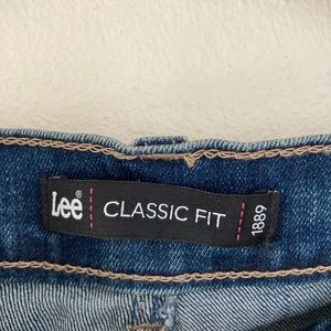 Lee Classic Fit Denim Trousers